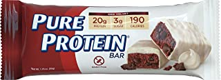 Pure Protein Bars, Gluten Free, Red Velvet, 1.76 oz, 6 Count