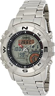 Casio Sport Watch Digital Display Quartz For Men Amw-704D-7Av, Silver Band