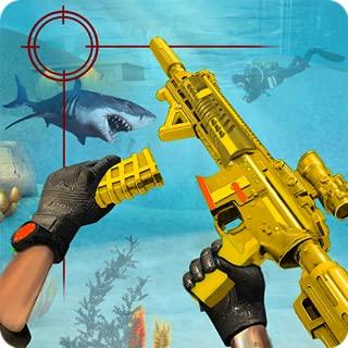 Counter Terrorist Underwater Gun Shooting Game