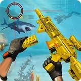 Counter Terrorist Underwater Gun Shooting...