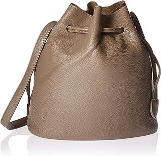 2Chic Greige Bucket Handbag