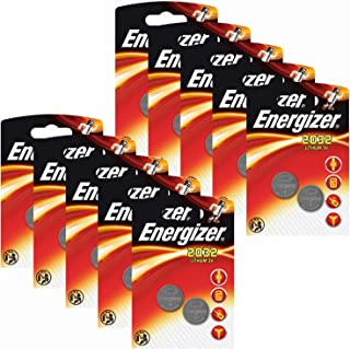 20 x Energizer CR2032 Coin Battery Batteries Lithium 3V for Watches Torches Keys