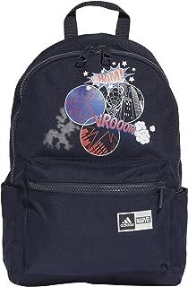 حقيبة ظهر سبايدر مان للاطفال من اديداس، اللون: أزرق، المقاس: مقاس واحد.