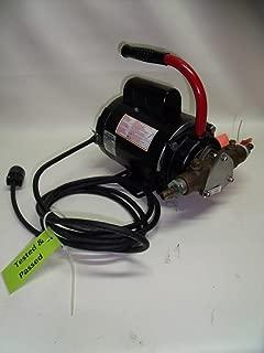 Dayton Pump Flexible Impeller, Teel Pump 1V395, Motor 1/2hp 115V, Used