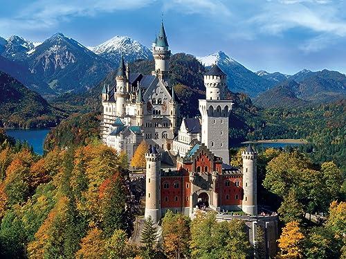 Signature Collection  Neuschwanstein Castle 1000pc Jigsaw Puzzle