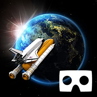 VR Space mission: Moon Explorer