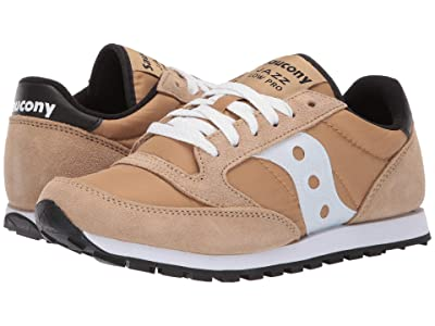 Saucony Originals Jazz Low Pro (Tan/White 2) Women