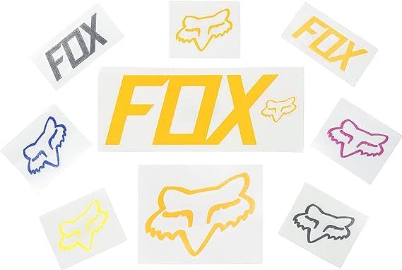 Fox Tdc Aufkleber Für Herren 17 8 Cm Chrom Einheitsgröße Bekleidung
