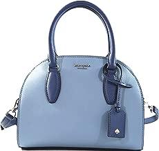 Kate Spade Reiley Small Dome Satchel Womens Saffiano Leather Crossbody Bag Purse Handbag
