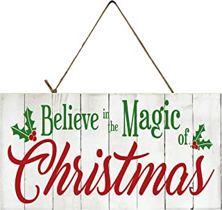 Best believe in the magic of christmas wood sign Reviews