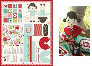 Lil Red Riding Hood Doll Set Panel by Stacy Iset Hsu for Moda