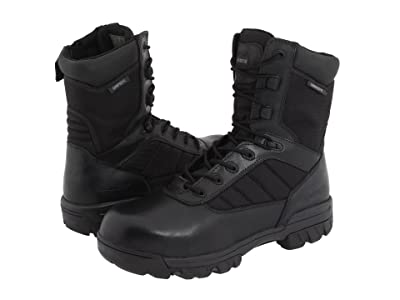 Bates Footwear 8 Tactical Sport Composite Toe Side Zip (Black) Men