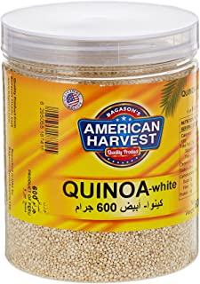 American Harvest Natural White Quinoa In Jar, 600 gm