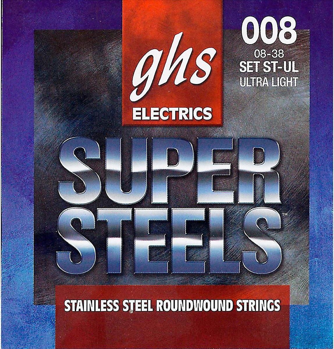 GHS Ranking TOP8 Strings Electric Guitar ST-UL Low price