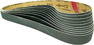1x30-80 Grit 10 Pack - Premium Silicon Carbide Knife Sharpening Belts - Made in USA