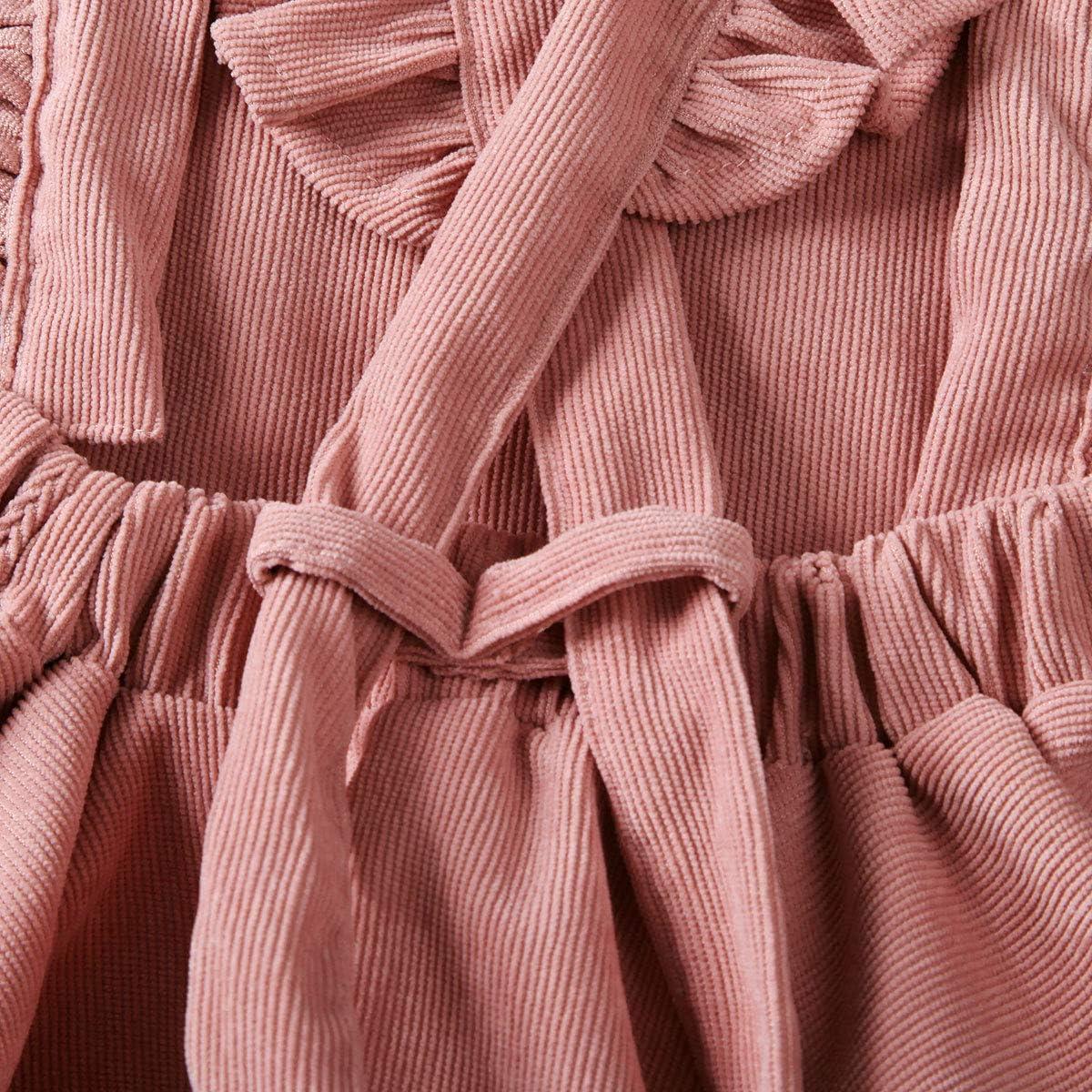 MERSARIPHY Toddler Tutu Dress Infant Sleeveless Vest Skirt Baby Backless Cute Romper for Girl Ruffle Skirt Ages for 6Mos-5T