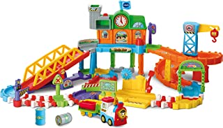 VTech Toot-Toot Drivers Train Set, Motorised Kids Train Set with Music, Fun Phrases & Sounds, Baby Musical Train Set Toy for Boys & Girls 1, 2, 3, 4 & 5 Year Olds
