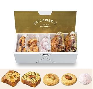 パッコビアンコ ラスクとクッキーの詰め合わせ (【ラスク】メープルキャラメルアーモンド,ダブルナッツロースト)(【クッキー】ディアマンカシュー,ディアマンアマンド,ブールドフレーズ)お取り寄せ スイーツ グルメ