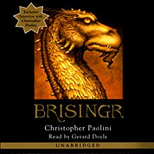 christopher paolini brisingr audiobook