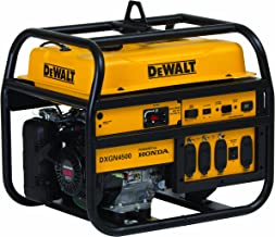 DeWalt PD422MHI005, 4200 Running Watts/4500 Starting Watts, Gas Powered Portable Generator