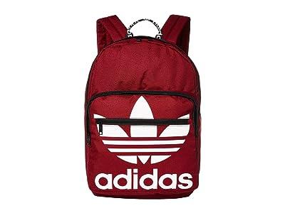 adidas Originals Originals Trefoil Pocket Backpack (Collegiate Burgundy) Backpack Bags