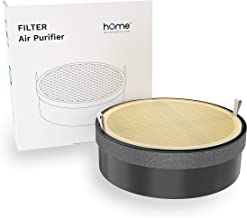 hOmeLabs 1 Pack True HEPA H13 Air Purifier Replacement Filter for Home, Bedroom or Office - Compatible Small Portable Air Purifiers for Allergies, Mold, Dust, Pets and Smoke Odor Eliminator