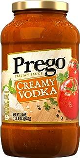 Prego Pasta Sauce, Creamy Vodka, 24 oz. Jar
