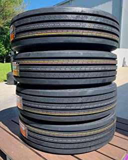 Set of 4 (FOUR) Cosmo CT518 Plus Commercial All-Season Tire-255/70R22.5 140/137L LRH 16-Ply