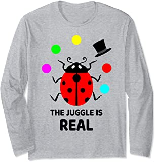 Project Manager Gift - The Juggle is Real - Juggling Long Sleeve T-Shirt