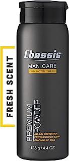 Chassis Premium Body Powder for Men, Original Fresh Scent