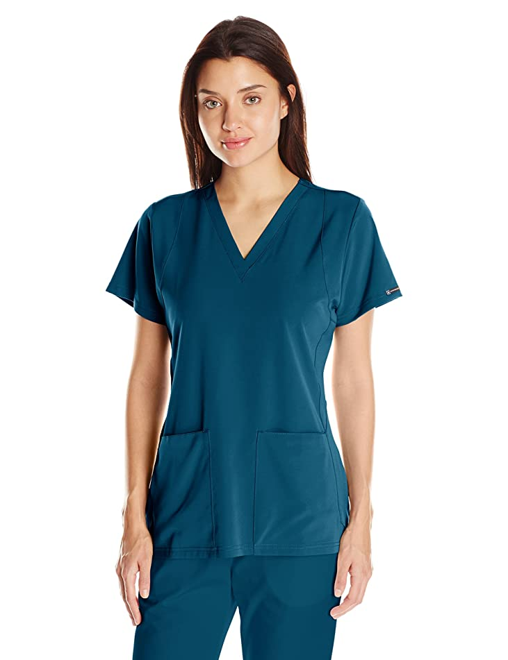 WonderWink Hp Sync V-Neck Women's Scrub Top
