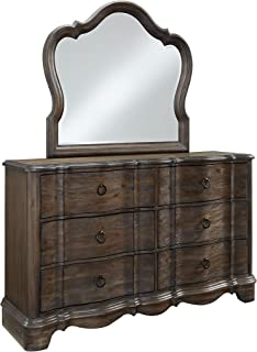 Standard Furniture Parliament Dresser, Distressed Brown