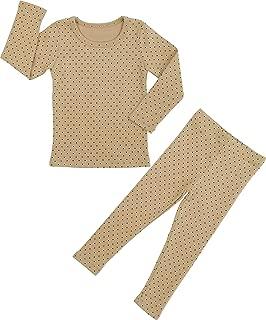 Baby Boys Girls Polka dot Pajama Set 6M-8T Kids Toddler Snug fit Cotton Sleepwear