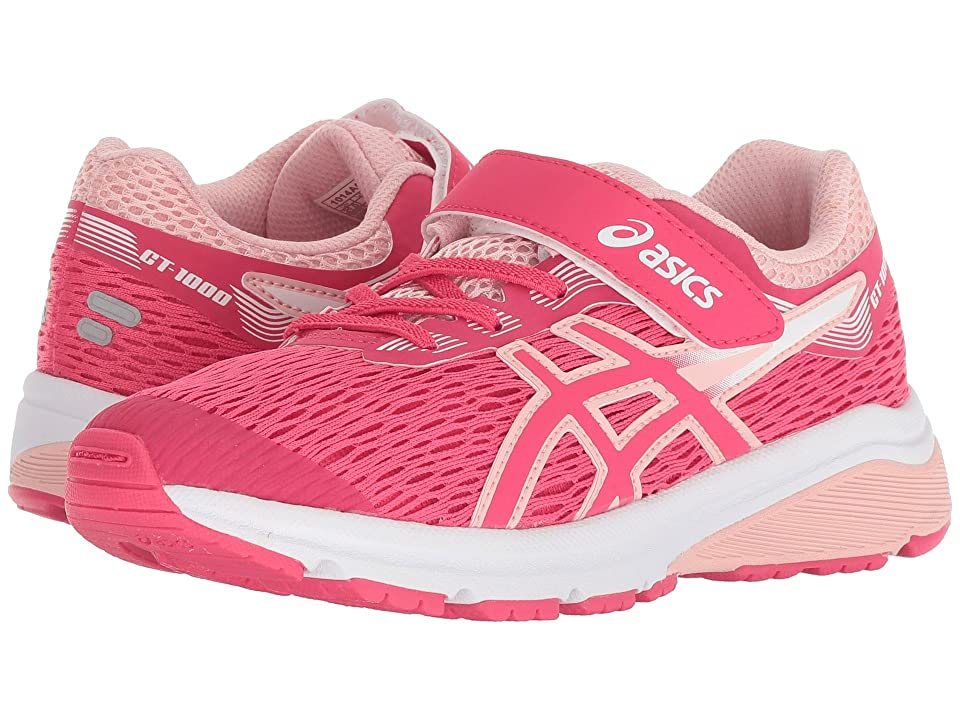 ASICS Kids GT-1000 7 (Toddler/Little Kid) (Pixel Pink/Frosted Rose) Girls Shoes