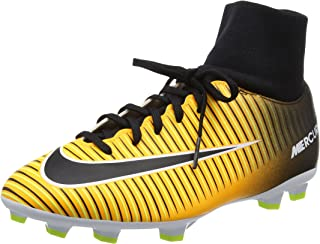 Nike Jr Mercurial Victory VI DF FG Soccer Cleats (Laser Orange) (5Y)