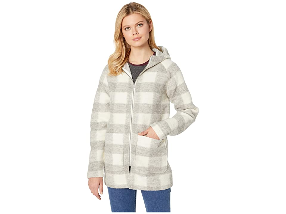 Woolrich Chilly Days Hooded Jacket (Gray Heather) Women