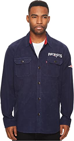 Levi's® Mens Patriots NFL Overshirt