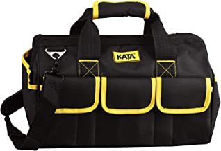 KATA 16 Inch Heavy Duty Tool Bag Tradesman's Tool Bag for Tool Storage,carrier and Organizer