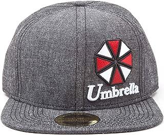 Resident Evil Baseball Cap Umbrella Logo Official Ps4 Grey Snapback