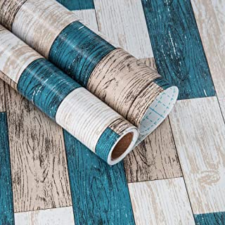 Self Adhesive Wallpaper 17.71 in X 118 in Self-Adhesive Film for Furniture Real Wood Tactile Easy to Clean Thicken Perfectly Covers The Surface Without Passing Through The Primary Colors