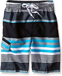 Kanu Surf Boys' Optic Stripe Swim Trunk