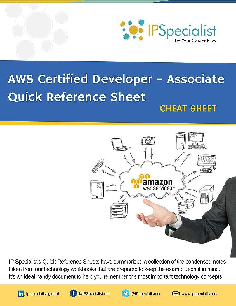 進行中鋭くドールAWS Certified Developer - Associate Complete Guide Quick Reference Guide | Cheat Sheet (English Edition)