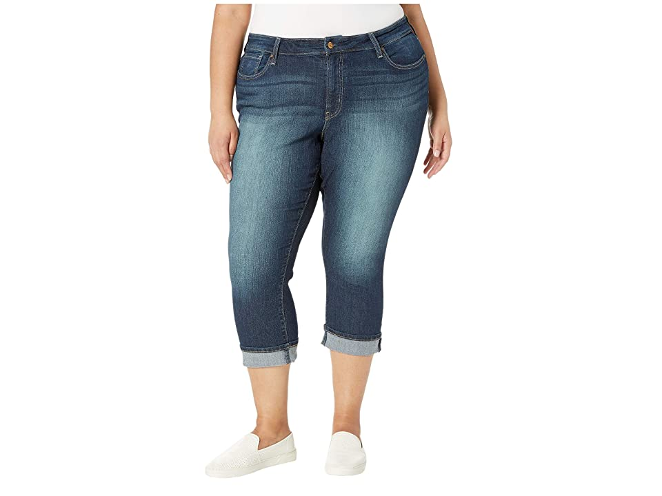 Signature by Levi Strauss & Co. Gold Label Plus Size Mid-Rise Capri Jeans (Splendor Original) Women