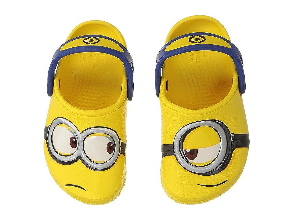 Crocs Kids CrocsFunLab Minions Clog (Toddler/Little Kid) (Yellow) Kids Shoes