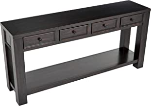 Ball & Cast Sofa Table - 64 x 5 x 30 Inches, Black