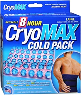 Cryo-MAX Cold Pack 8 Hour Large 1 Each (Pack of 2)