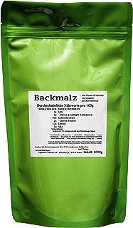 Backmalz 1000g - aus Gerste, enzymaktiv - mind. 9 Monate MHD