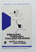Breaking Through: College Reading, Books a la Carte Editions Plus MyLab Reading -- Access Card Package (12th Edition) (What's New in Developmental English & Technical Communication)