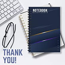 NOTEBOOK WORK PLANNER: Notebook is part of Luxury Notebook collection, for people who are busy building weekly work plan. Size: 6 * 9 (inch), 200 pages thick.