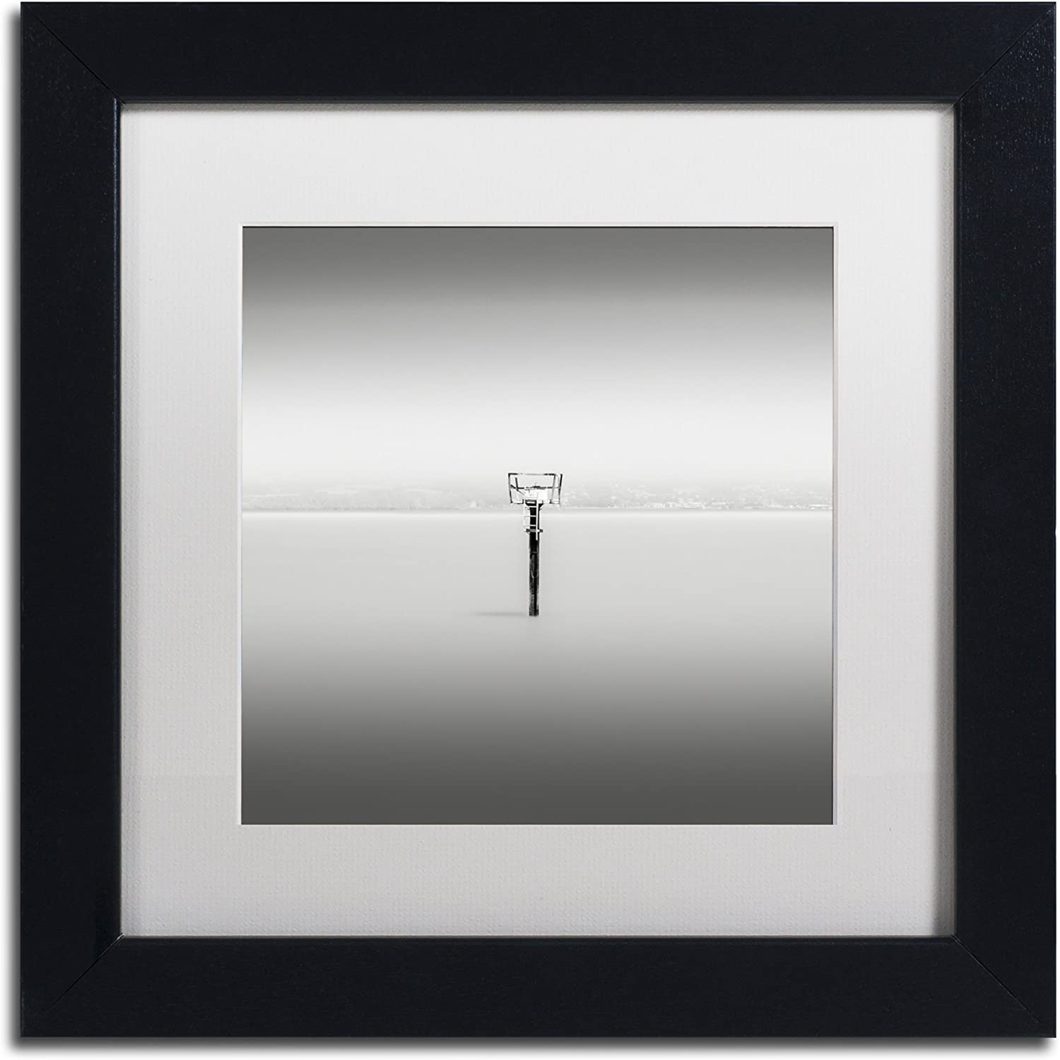 Trademark Fine Art Isolation by Dave MacVicar Frame, 11 by 11Inch, White Matte